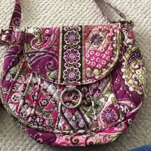 Vera Bradley Saddle Up In Very Berry Paisley